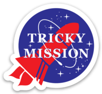 Tricky Mission Classic Sticker